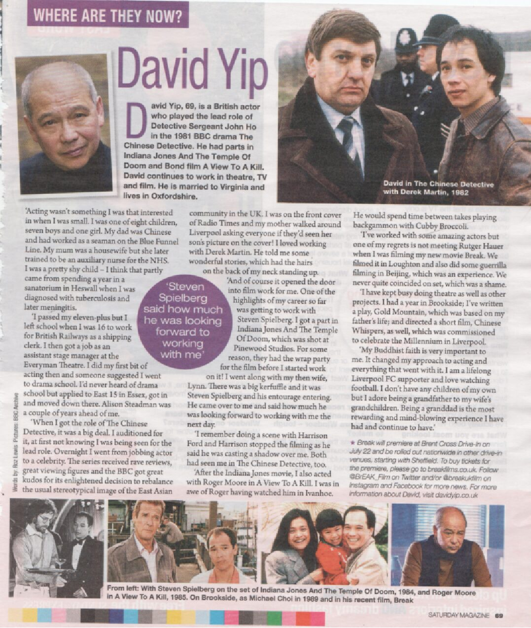 David Yip Article